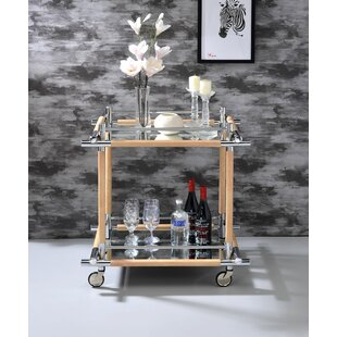 Greear Serving Bar Cart by Latitude Run