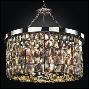 Glow Lighting Mailbu 6-Light Chandelier