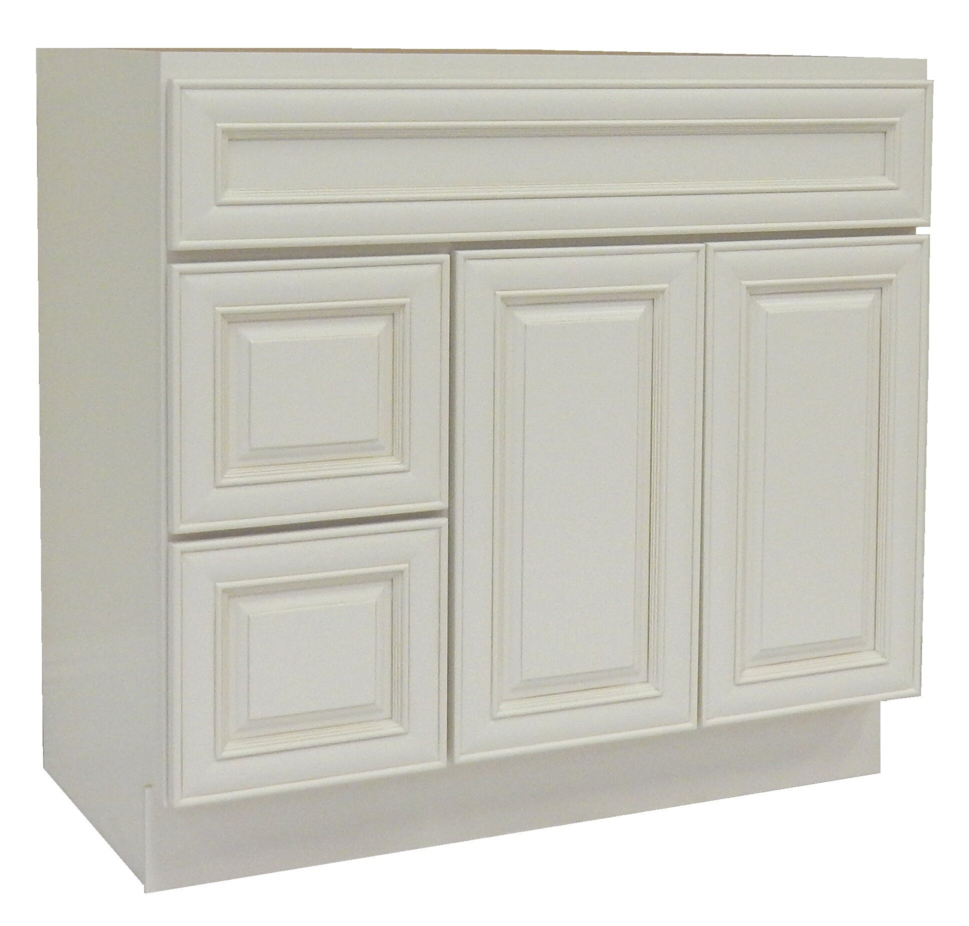 Ngy Stone Cabinet 42 Single Bathroom Vanity Base Only Reviews Wayfair