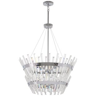 Laffoon 14-Light Crystal Chandelier by House of Hampton