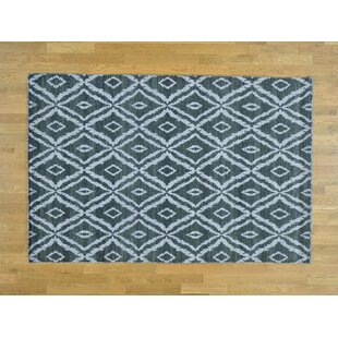 One-of-a-Kind Bordeaux Reversible Handmade Kilim Grey Wool Area Rug by Isabelline