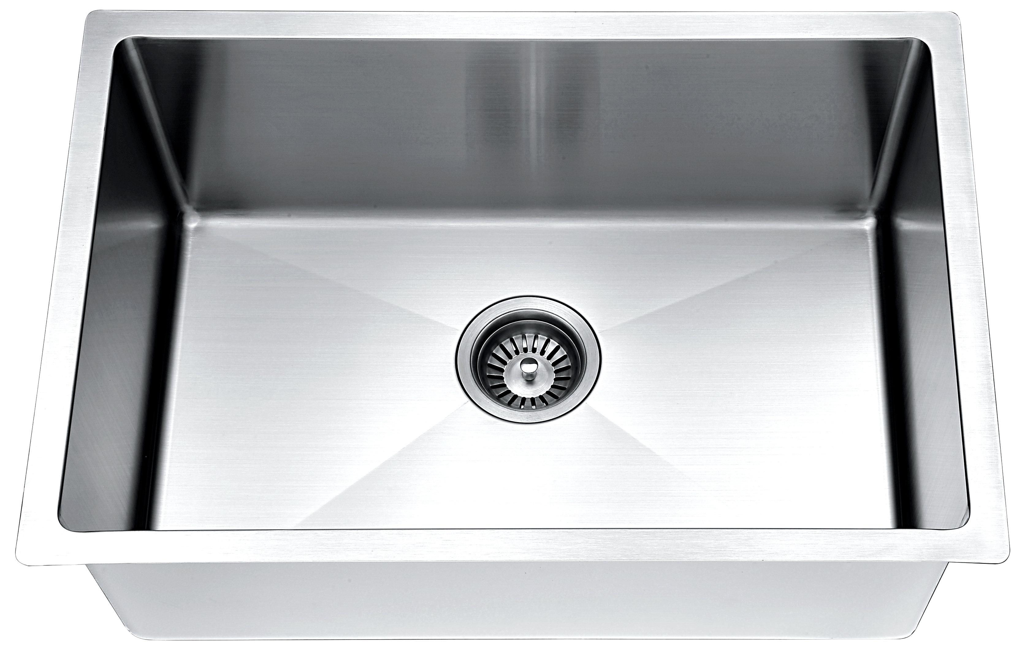 Daweier EST332208 Sink Top Mount Double Bowls 18 Gauge