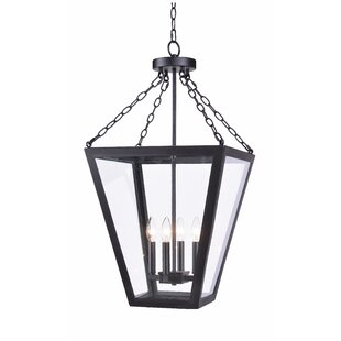 Charlton Home Piper 4-Light Lantern Chandelier