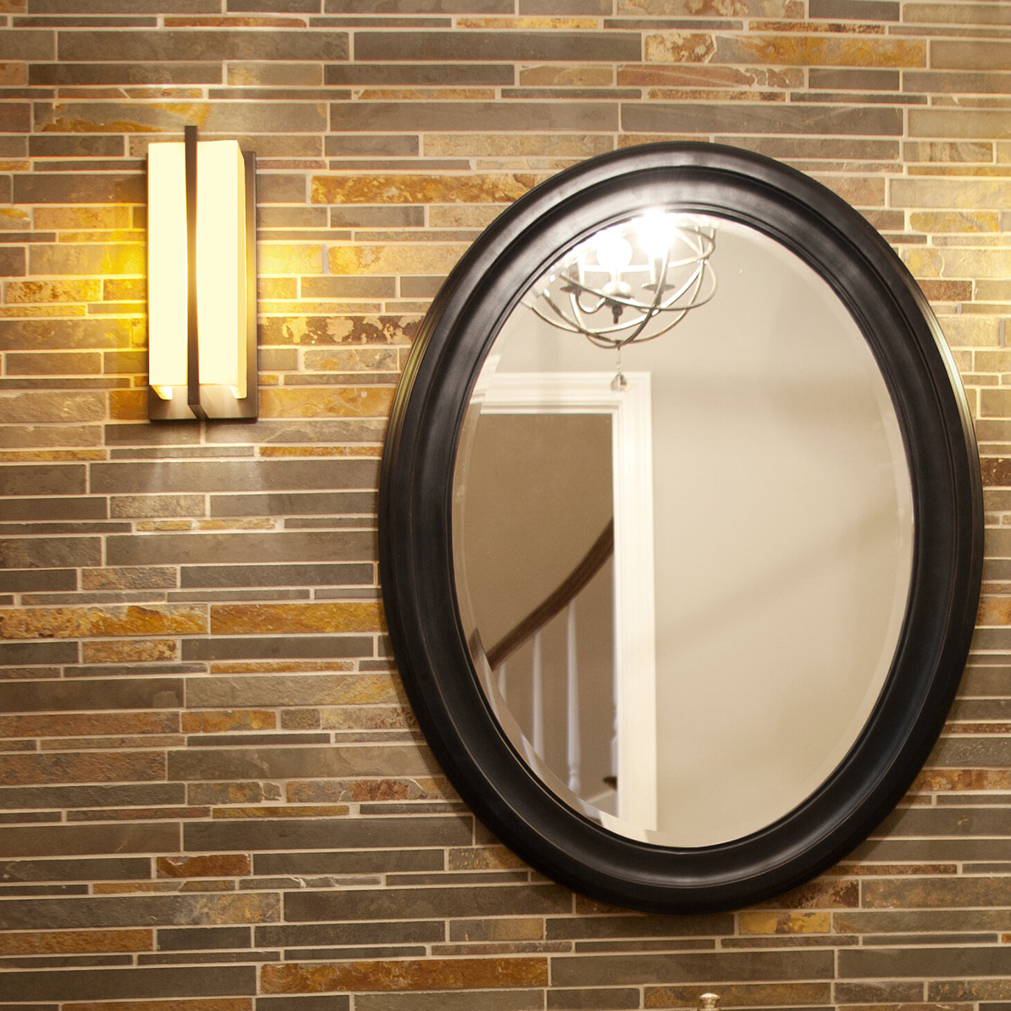 Black Oval Mirrors You Ll Love In 2020 Wayfair