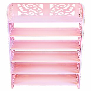 Reviews Multipurpose 6 Tier Shoe Rack By Rebrilliant