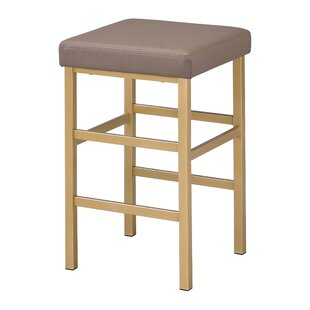 Skyla 26 Backless Bar Stool Everly Quinn