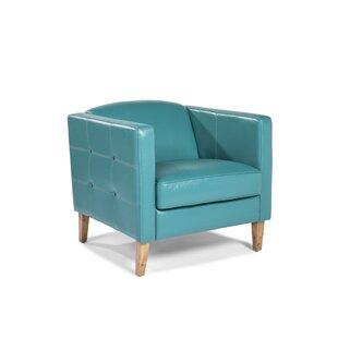 Lazzaro Leather Miami Armchair