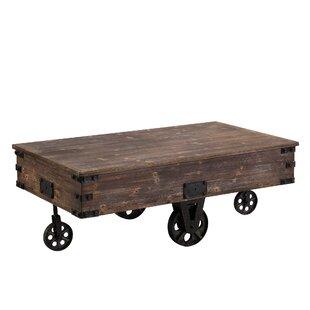 Railroad Cart Coffee Table Wayfair