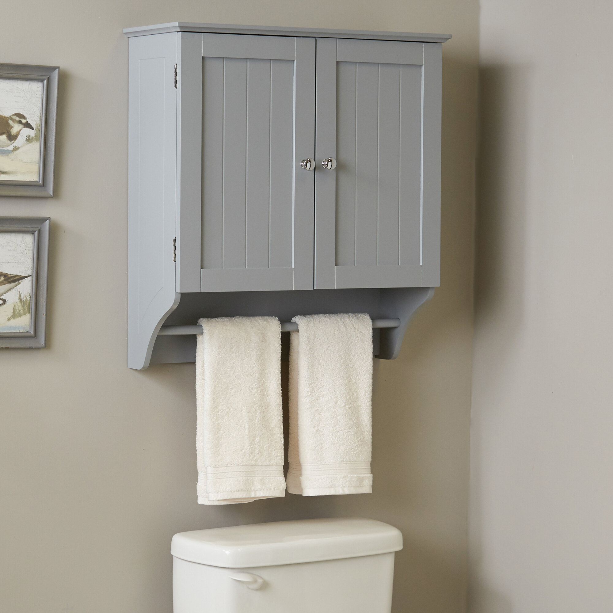 Gray Bathroom Cabinets Shelving You Ll Love In 2021 Wayfair