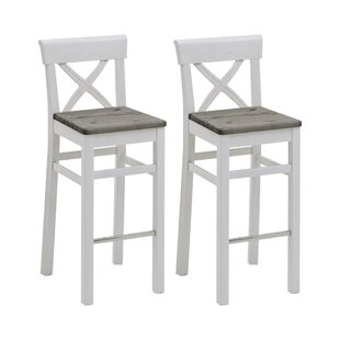 75cm Bar Stool (Set Of 2) By August Grove