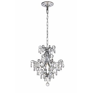 Theydon 1-Light Crystal Pendant by House of Hampton