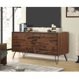 Garrin Solid Wood TV Stand for TVs up to 55 by Union Rustic