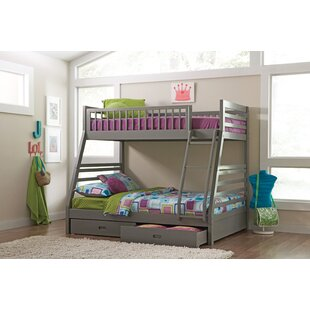 Rafael Twin over Full Bunk Bed with Storage by Viv + Rae