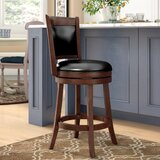 Terranova Bar & Counter Swivel Stool by Charlton Home®