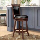 Terranova Bar & Counter Swivel Stool by Charlton Home®