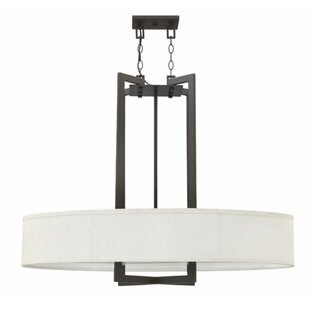 Hinkley Lighting Hampton 4 Light Drum Pendant