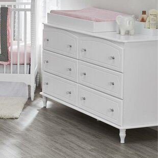Rowan Valley Laren 6 Drawer Changing Dresser by Little Seeds