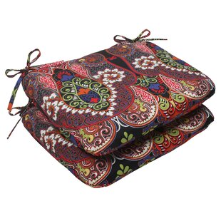 Marapi Indoor/Outdoor Seat Cushion (Set Of 2) By Pillow Perfect