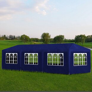 10 Ft. W x 20 Ft. D Steel Party Tent by Freeport Park