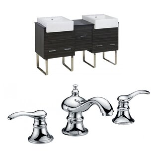 Xena Farmhouse 62 Double Bathroom Vanity Set by American Imaginations