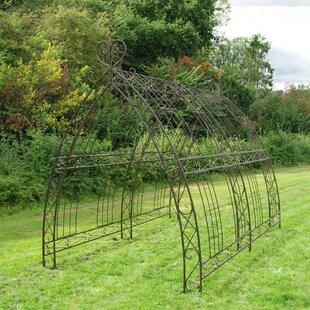 Triangular Tunnel 3m X 2m Steel Pergola By Fleur De Lis Living