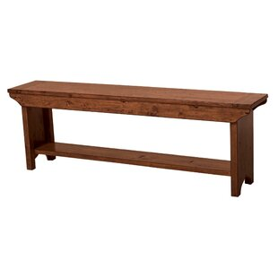 Yorba Linda Long Wood Bench by Loon Peak