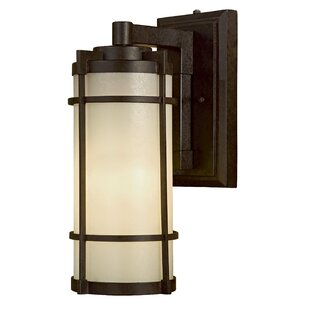 Great Outdoors by Minka Andrita Court 1-Light Outdoor Wall Lantern