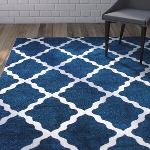 Madison Avenue Blue Area Rug