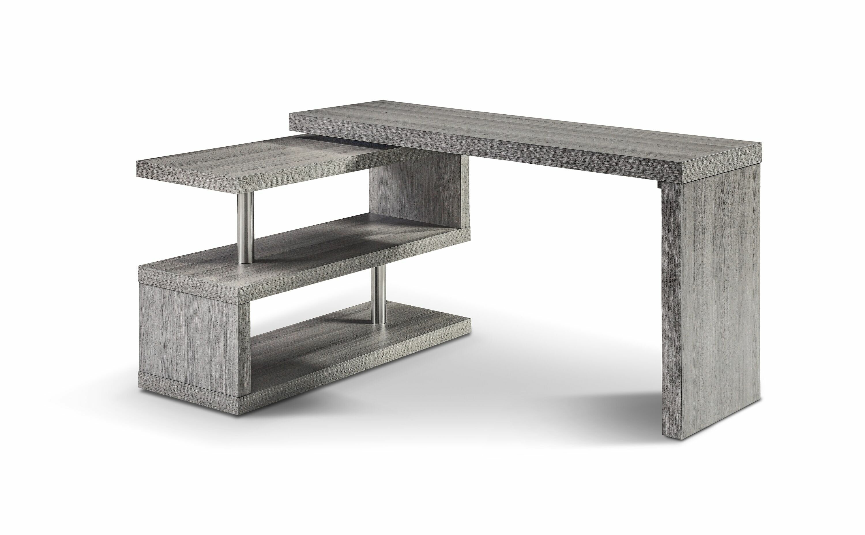 Picture of: Gray L Shaped Desks You Ll Love In 2020 Wayfair