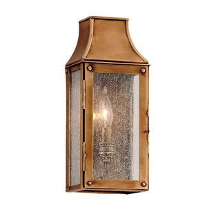 Best Bridgnorth 1-Light Outdoor Flush Mount By Canora Grey