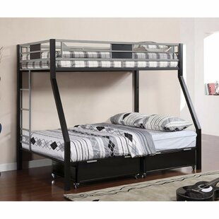Compare prices Florio Twin Over Full Bunk Bed By Harriet Bee