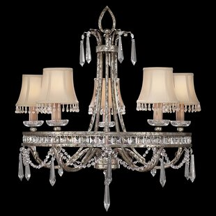 Fine Art Lamps Winter Palace 5-Light Shaded Chandelier