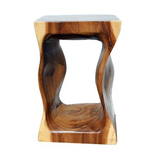 Wavy Accent Stool by Asian Art Imports