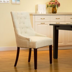 Highvale Tufted Back Fabric Dining Chair (Set Of 2)