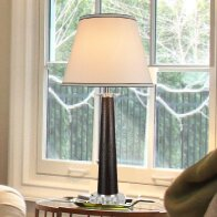 Crystal 30'' Table Lamp
