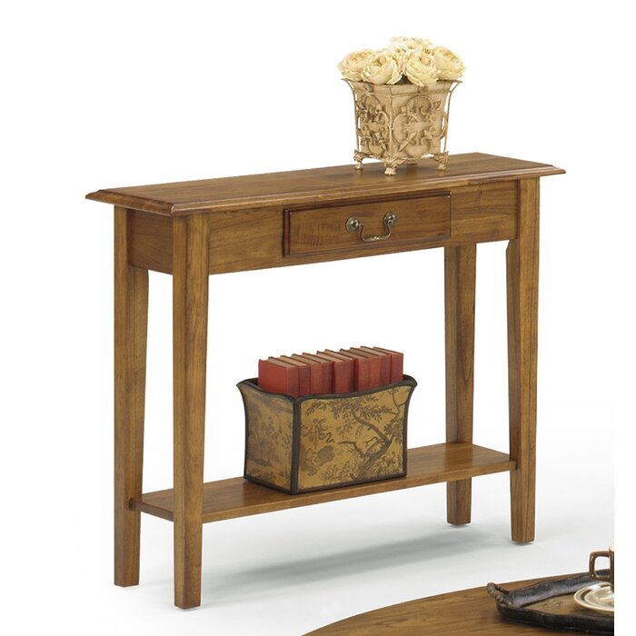 Revere 36 Solid Wood Console Table