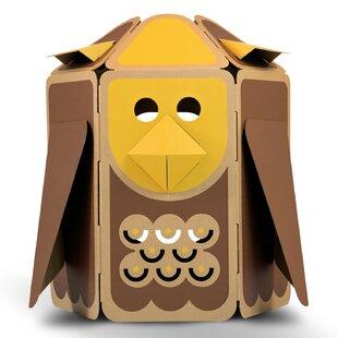 Dr. Hoot the Owl Eco 3.61' x 3.28' Playhouse ByECR4kids