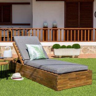 Anniki Reclining Sun Lounger By Sol 72 Outdoor
