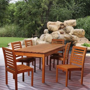 Rosecliff Heights Ashford 7 Piece Dining Set