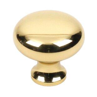 Maryland Premium Solid Brass Mushroom Knob