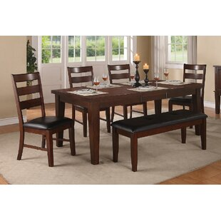 Kaneshiro 6 Piece Extendable Dining Set Alcott Hill