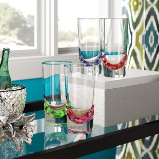 Funkhouser 4-Piece 12 oz. Plastic Drinking Glass Set