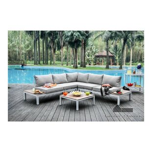 Winona Patio Sectional with Cushions by Williams Import Co.