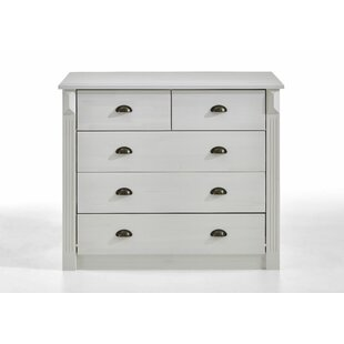 Review Carrollwood 5 Drawer Chest