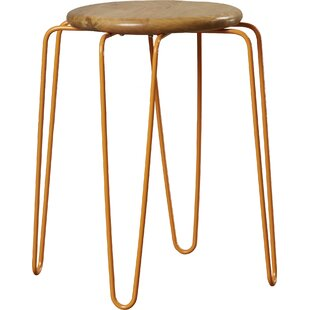 Butler Easton Wood and Iron Stackable Stool (Set of 3)