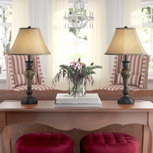 Red Barrel Studio Vetter 24'' Table Lamp (Set of 2)