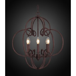 Therese 6-Light Geometric Chandelier by Bloomsbury Market