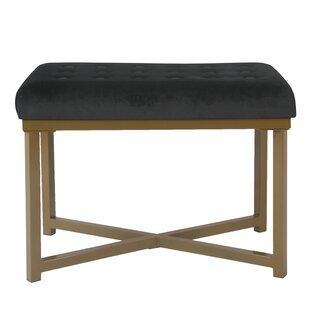 Find Bridgegate Tufted Vanity Bench ByMercer41