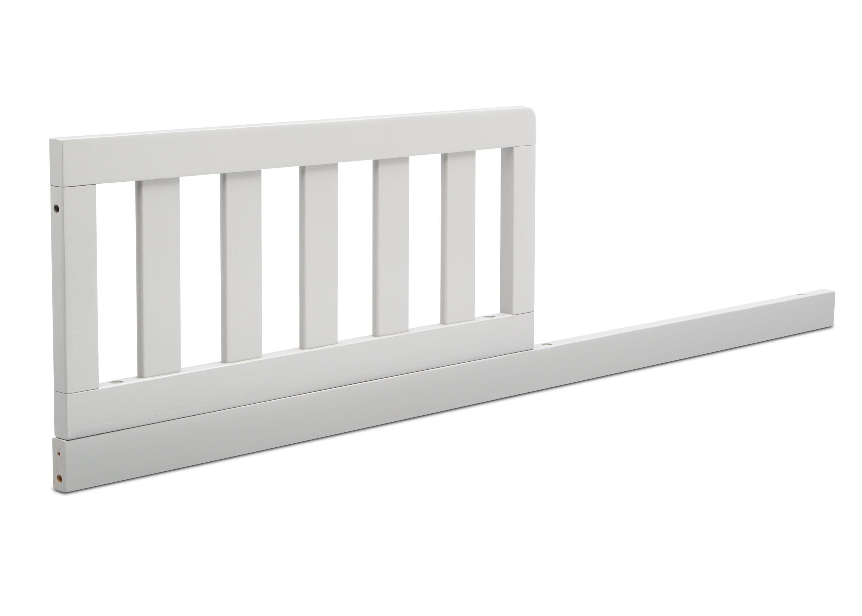 Mid Century Modern Toddler Bed Rail
