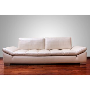Zoila Top Grain Leather Sofa
